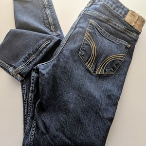 Hollister low rise skinny jeans, size 9R, W29 L29